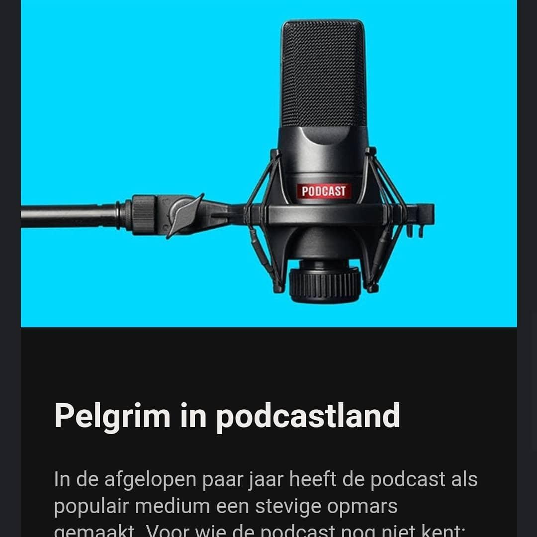 Vanaf oktober heb ik een vaste rubriek in het tijdschrift Van twaalf tot achttien. Elke maand een podcast uitgelicht. De eerste keer @meesterwerkpodcast.