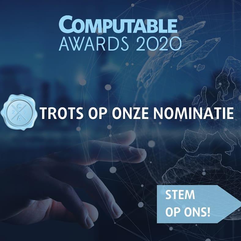 Laatste week om te stemmen! Ga snel naar de website van de Computable Awards!