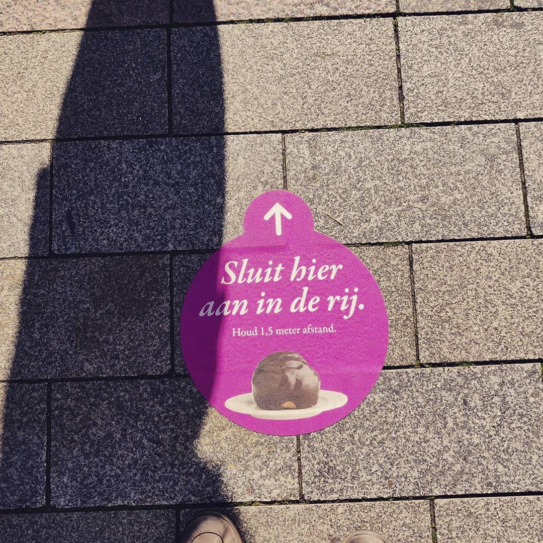 Flinke rij in 's-Hertogenbosch @bbjandegroot #bosschebollen