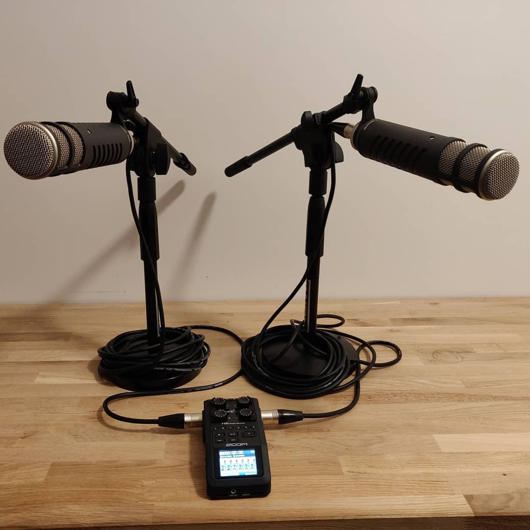 Getest en ready, vrijdag eerste opnames voor de @onderwijspodcast met nieuwe apparatuur #rode #podcast🎧 #rodepodcaster #onderwijs