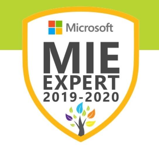 Ik ben voor het derde jaar op rij toegelaten tot de @microsoftedu Innovative Educator Expert groep. Mooi netwerk om deel van uit te maken. #onderwijs #innovatie #edutech